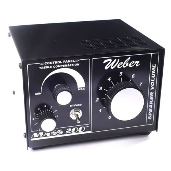 Weber Mass 200 Watt attenuator