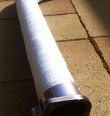 Heat Shieldings Wit 15cm x 50m glasvezel uitlaatband MED gekeurd