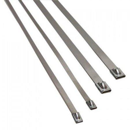 Heat Shieldings Stainless Steel Locking Tie | SS304 | 360mm x 4.6mm | ball lok