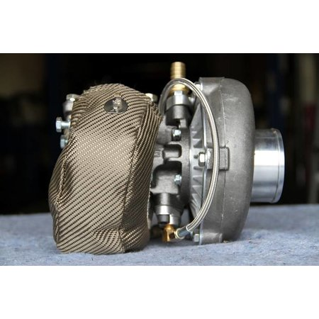 DEI Turbo isolatie titanium kit met uitlaatband