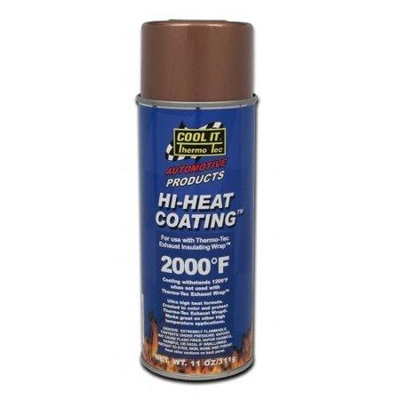 Thermo-Tec Voor een goed beschermde Uitlaat Isolatie Wrap is het aanbevolen om de Hi-Heat Coating gebruiken.
