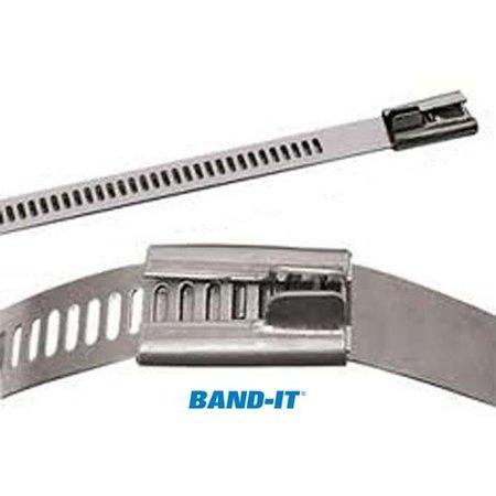 BAND-IT Hittebestendige RVS tyrap Multi lok voor uitlaatband en andere isolatie