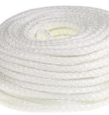 Heat Shieldings 8mm x 30m Glasvezel isolatiekoord hittebestendig tot 550 °C
