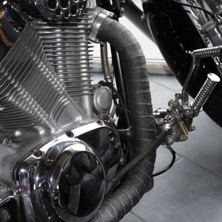 Heat Shieldings Grey Heat Wrap 5cm x 15m