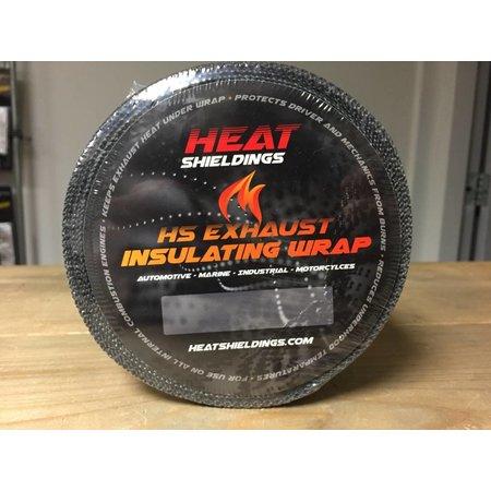 Heat Shieldings Grijs 5cm x 30m Uitlaatband tot 600 °C