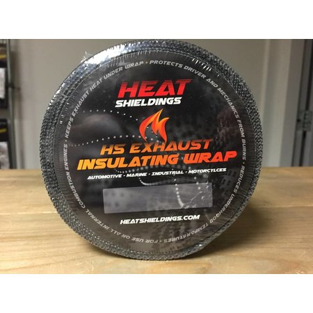 Heat Shieldings Grey Heat Wrap 5cm x 10m