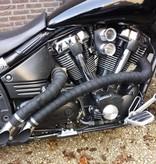 Heat Shieldings Exhaust Wrap Graphite Black 5cm x 15m