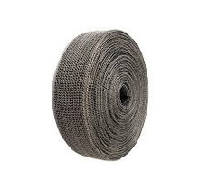 Black 3.8cm x 3m Exhaust wrap - Heat wrap - Stainless steel casing