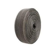 Schwarz 3.8cm x 3m Thermoband mit Stahlmantel