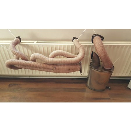 Thermo-Tec Uitlaatband | Heat Wrap | Hitteband | Isolatieband Koper 5cm x 15m