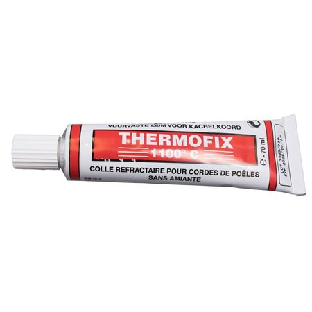 Heat Shieldings Heat-resistant adhesive tube  up to 1100 ° C / 2000 F