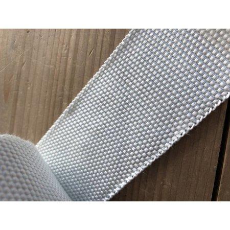Heat Shieldings Wit 5cm x 15m glasvezel uitlaatband MED gekeurd