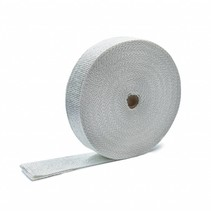 White 5cm x 30m x 1.5mm Exhaust Wrap