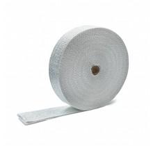 Wit glasvezel uitlaatband | MED 5cm x 30m tot 600 °C  | MED / IMO gecertificeerd