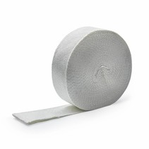 Wit 5cm x 10m x 1.5mm uitlaatband MED gekeurd