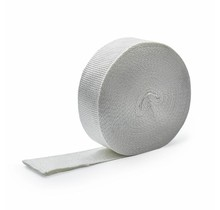 Wit glasvezel uitlaatband | MED 5cm x 10m tot 600 °C  | MED / IMO gecertificeerd