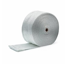 Exhaust Wrap White 10cm x 50m x 3mm MED certified