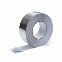 5cm x 50m Heat-reflective aluminum tape with glass-fiber reinforced 400C°