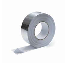 5cm x 50m Heat-reflective aluminum tape with glass-fiber reinforced