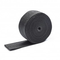 Black Exhaust Wrap 5cm x 15m