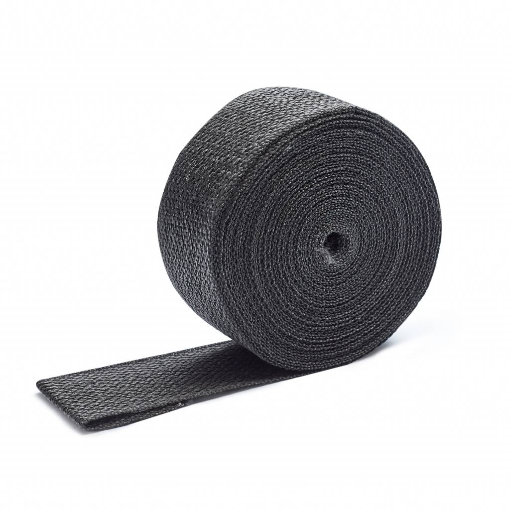 Heat Shieldings Graphite Black  Exhaust Wrap 5cm x 15m max 600 °C