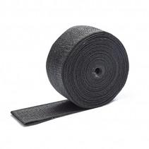 Zwart 5cm x 10m Uitlaatband