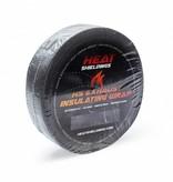 Heat Shieldings Zwart 5cm x 10m Uitlaatband tot 600 °C