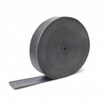 5cm x 30m antraciet grijs uitlaatband