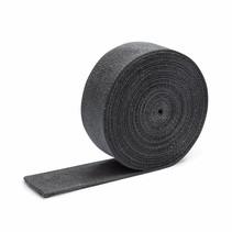 5cm x 15m antraciet grijs uitlaatband