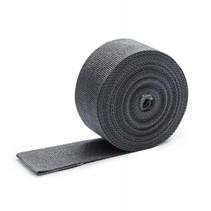 5cm x 10m antraciet grijs uitlaatband