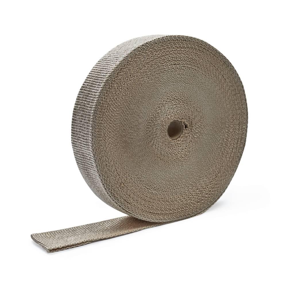 Heat Shieldings Naturel 5cm x 30m Uitlaatband tot 600 °C
