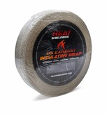"Heat Shieldings Exhaust wrap natural 2"" x 65ft"
