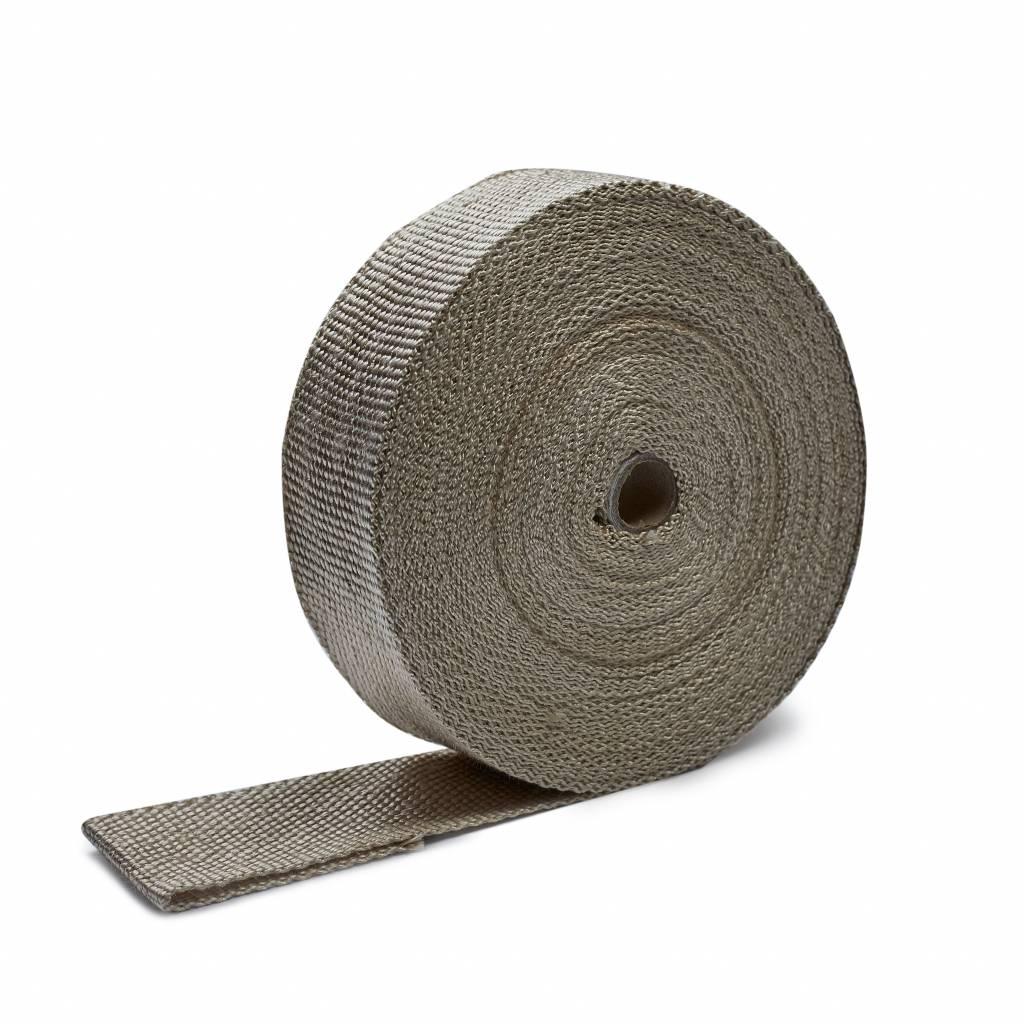 Heat Shieldings Naturel 5cm x 20m uitlaatband tot 600 °C