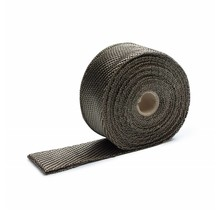 Titanium basaltvezel uitlaat tape 5cm x 10m tot 800 °C