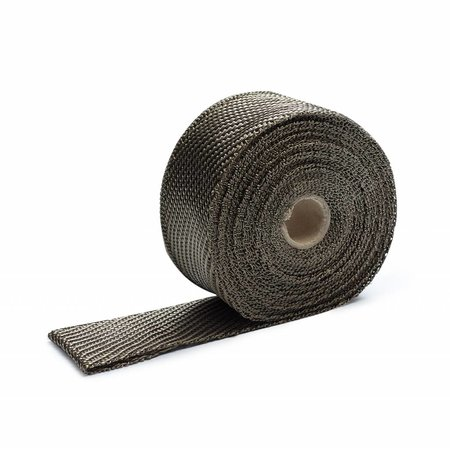 Heat Shieldings Titanium Exhaust Wrap 5cm x 10m for max 800 °C