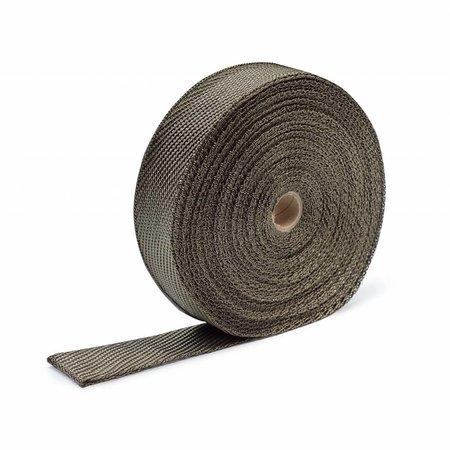 Heat Shieldings Titanium basaltvezel uitlaatband 5cm x 30m tot 800 °C