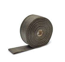 Titanium basaltvezel uitlaatband  5cm x 15m tot 800 °C