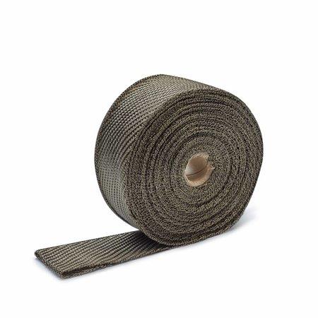 Heat Shieldings Exhaust Wrap Titanium 5cm x 15m