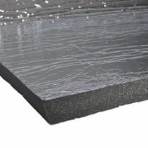 0.9m2 | 20mm | Schall- und hitzebeständige Matte  Polyethylenschaum - selbstklebend