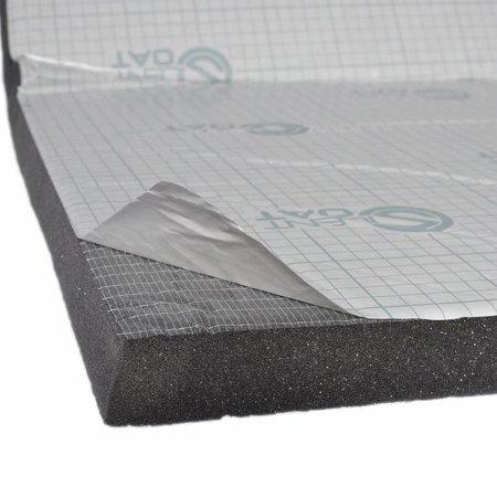 Heat Shieldings Geluids en warmtewerende mat 20 en 30mm  Polyethyleen schuim  - zelfklevend