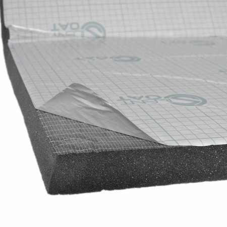 "Heat Shieldings Sound and heat resistant sheet 20mm thick 95cm x 95cm (37.5"" x 37.5"")"