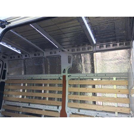 Silent Coat Zelfklevende geluids en warmtewerende  - Anti dreun a 1 m² (10 losse tegels)