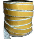 Heat Shieldings 30mm x 4mm x 1m Hittebestendige afdichting  met zelfklevende laag  - Kachelkoord plat