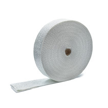 White 5cm x 50m x 3mm Exhaust Wrap MED approved