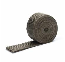 Titanium basaltvezel uitlaatband 2.5cm x 5m tot 800 °C