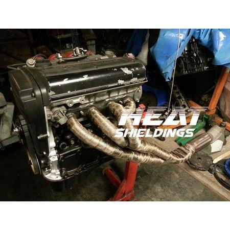 Heat Shieldings Titanium Exhaust Wrap 5cm x 15m for max 800 °C