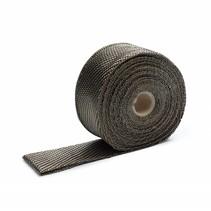 Titanium 5cm x 5m Uitlaatband