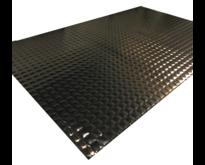 1.12 m² | 4mm zwart | Absor-B | Zelfklevende geluids en warmtewerende  matten