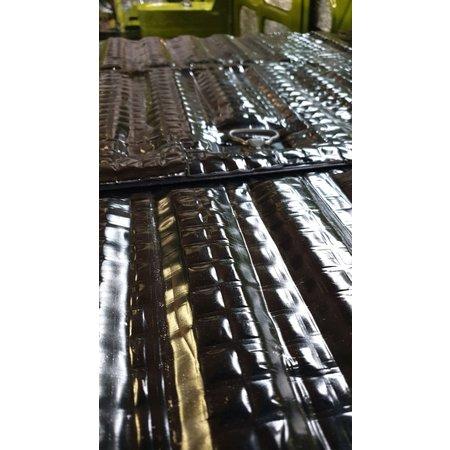 Absor-B 1 m²   4mm zilver   Absor-B   Zelfklevende geluids en warmtewerende  matten