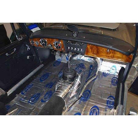 Heat Shieldings 1.38m2 |Suppressor sound and heat resistant mat - self-adhesive 91 x152 cm